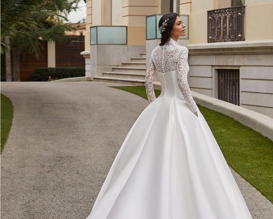 I tessuti dell'abito da sposa: il MIKADO