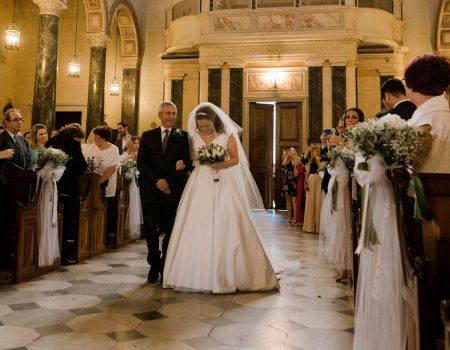Sposa a destra o a sinistra: dove è giusto stare?